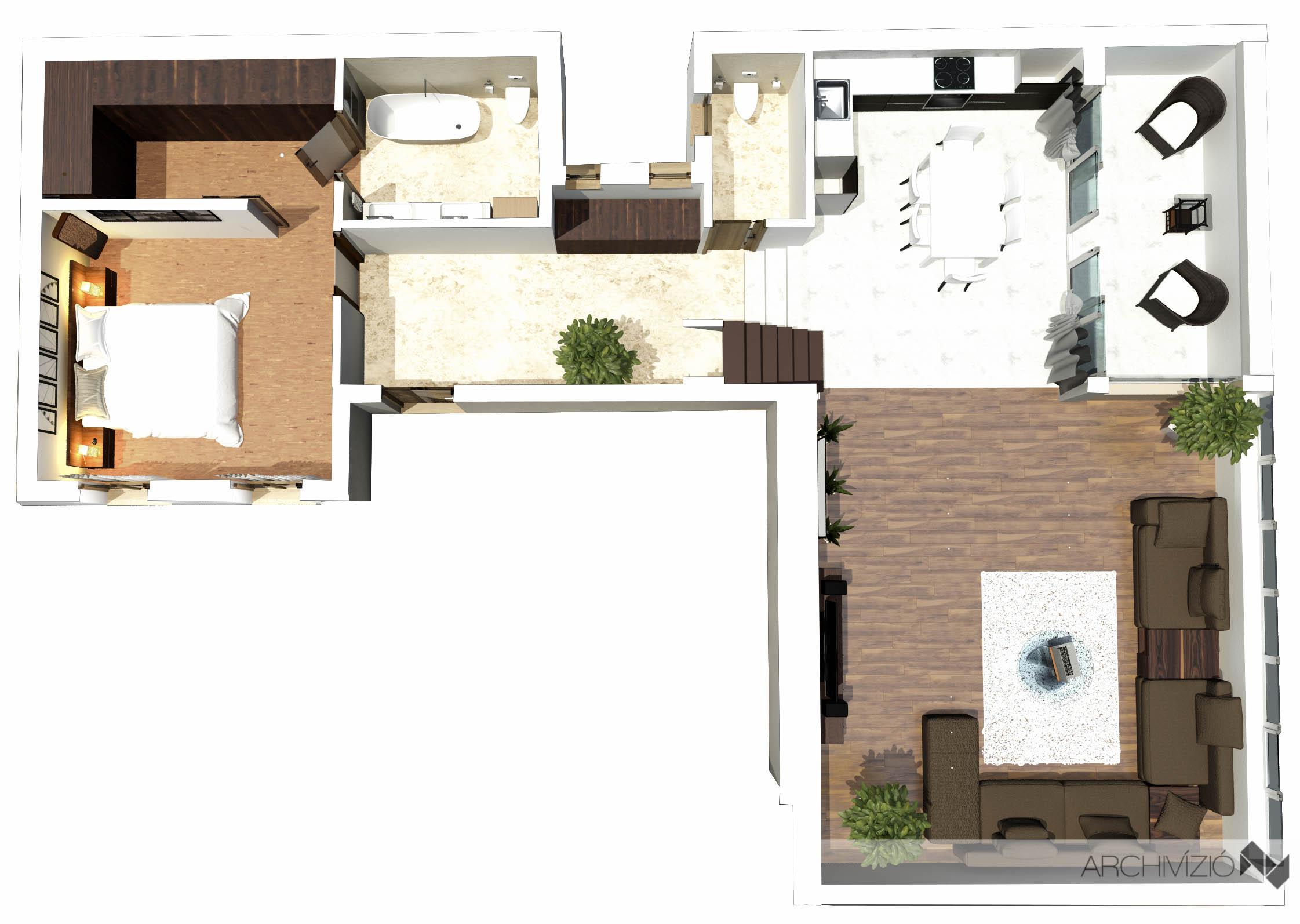 1. lakás - földszint
