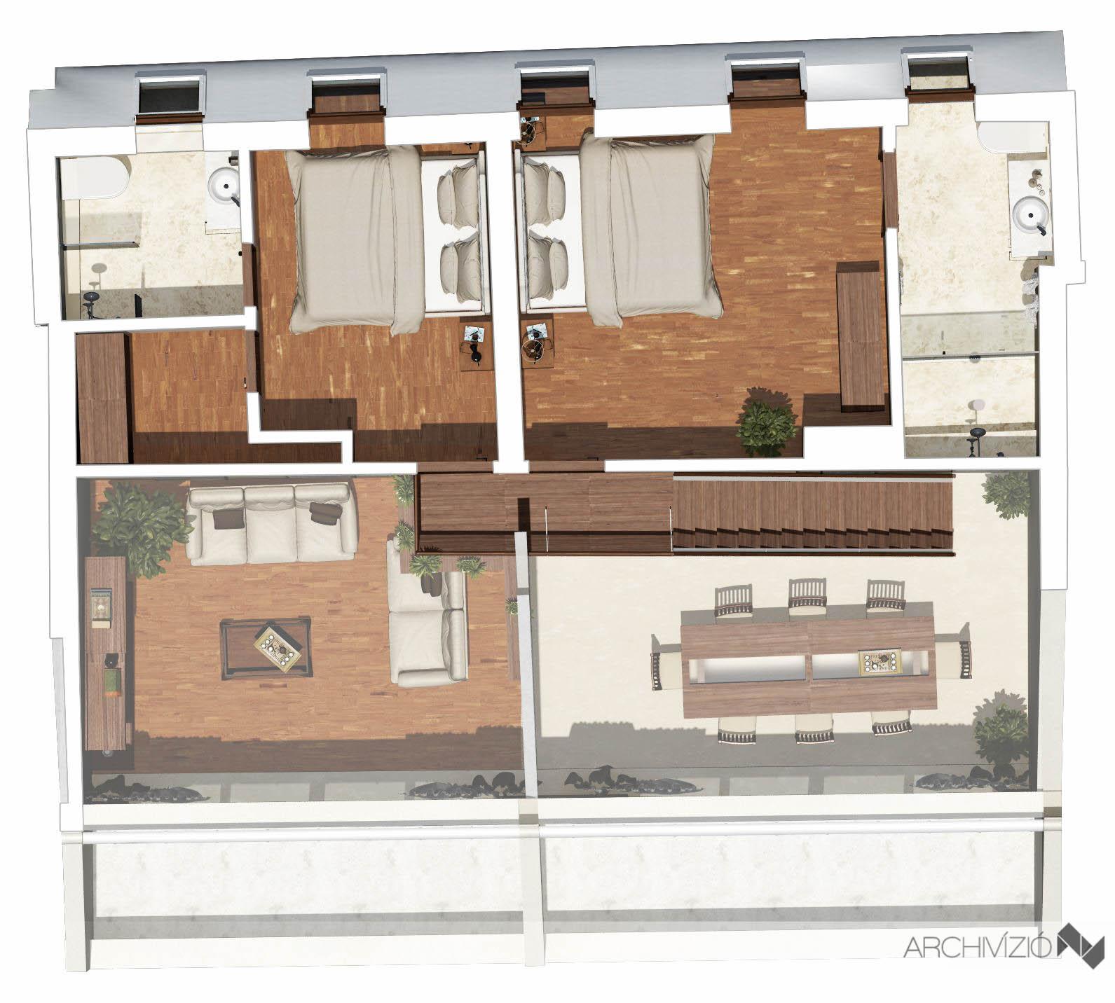 3. lakás - emelet