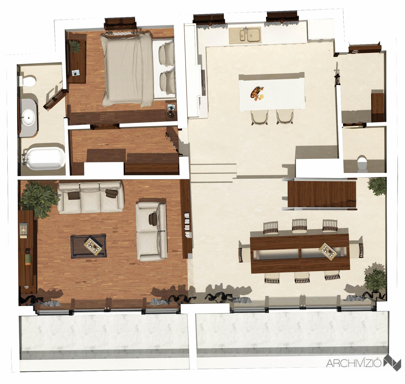 3. lakás - földszint