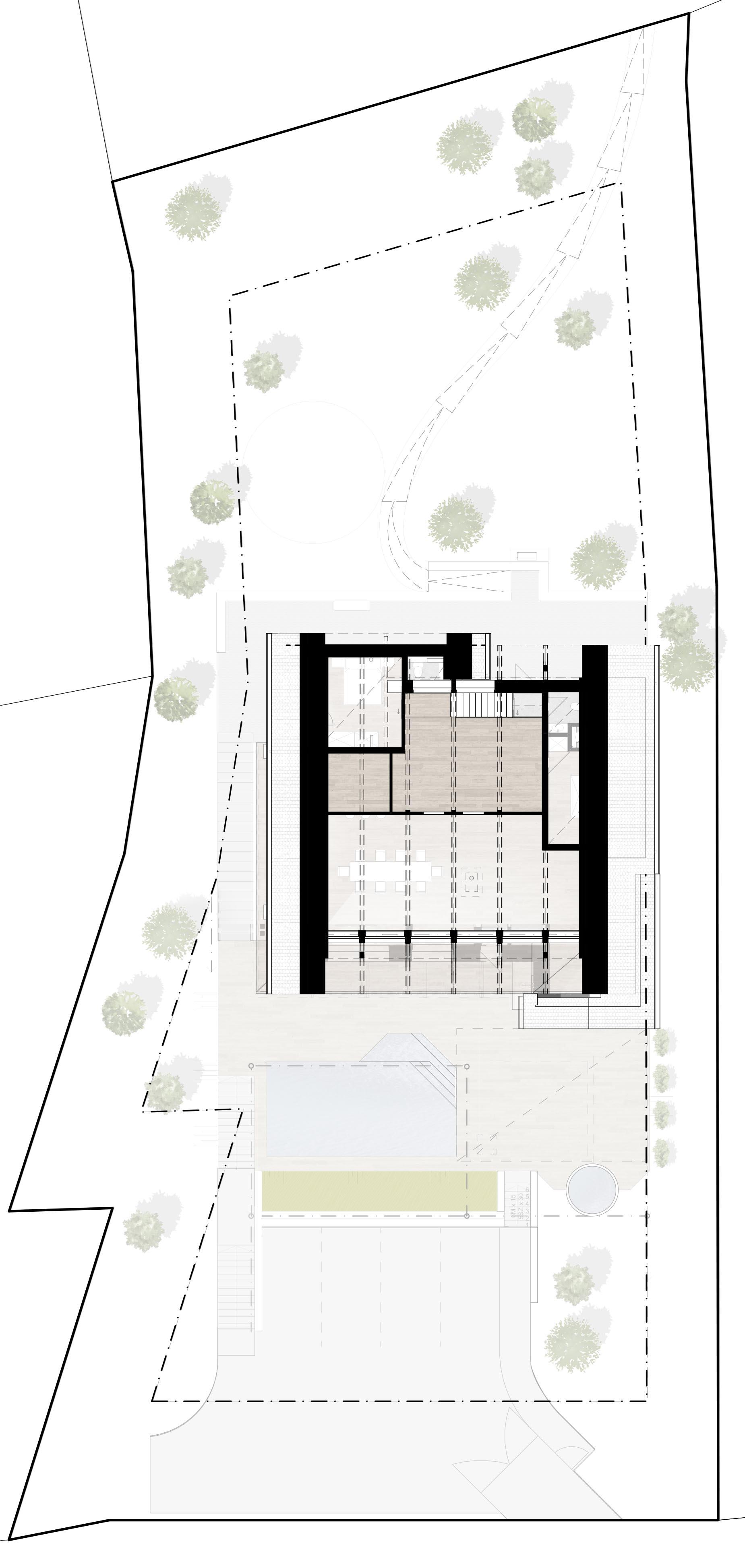 tetőtéri alaprajz